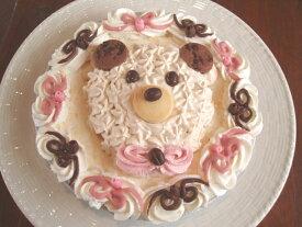手作り誕生日アイスケーキ・ハッピークマさん5号