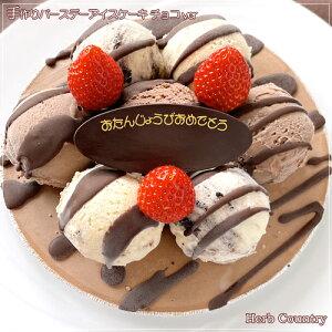 特製・バースデーアイスケーキチョコver6号