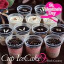 バレンタイン限定・小さなアイスケーキ 12個セット