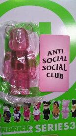 【BE@RBRICK/ベアブリック】series 38 ●ANTI SOCIAL SOCIAL CLUB:1/48 ARTIST
