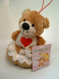 【Suzy's Zoo/スージーズー】ドーナツふきふきマスコット ブーフ(くま)【単品】
