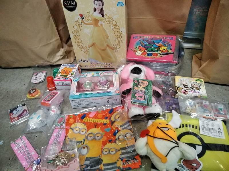 【福袋】ラッキーバック福袋! ディズニー、セーラームーン、プリキュアなど女の子用?