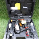 【中古】未使用 マックス 高圧ねじ打機 ターボドライバ HV-R41G4-R ビス打ち機 41mm マイスタ−レッド ボード張り 際…