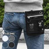 ポリキャンバスフラップポケット2wayシザーケース
