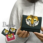 FLAPPER(フラッパー)フェイクレザートラアップリケ三つ折り財布