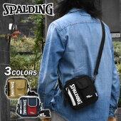 SPALDING(スポルディング)ポリキャンバススクエアミニショルダーバッグ