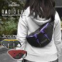 ボディバッグ レディース/mis zapatos RADIO EVA コラボ EVANGELION エヴァンゲリオン ナイロン バイカラー ボディバ…