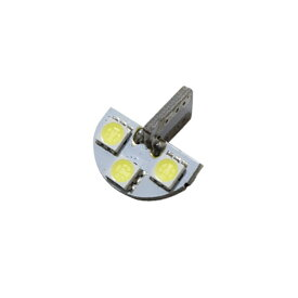 ナンバー灯【セット販売用】 SUZUKI車専用 T10 ナンバー灯 LED ホワイト【無極性】ワゴンR、クロスビー、ソリオハイブリッド等