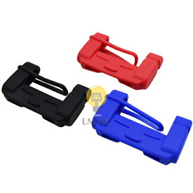 シートベルトカバー [2個セット] 傷防止 シリコンカバー バックルカバー 汎用タイプ