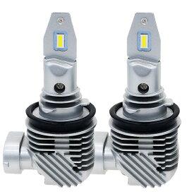 純正交換簡単取付 LEDフォグランプ H8 H11 H16 4000ルーメン LED 【車検対応】