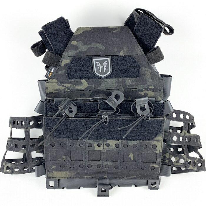 【ポイント10倍】HUSAR CONCRETE プレートキャリア Multicam Black サバイバルゲーム サバゲー ミリタリー 戦闘服 ポーランド軍 装備