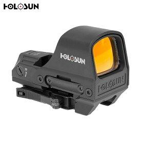 HOLOSUN Classic Open Reflex Solar Failsafe レッドドット ダットサイト BK HS510C 【保証付】 送料無料