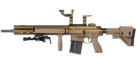 【スーパーセール期間中 ポイント5倍】VFC Umarex HK G28 GBB ガスブローバック DX Ver. ガンケース付 DE サバイバルゲーム 銃 サバゲー 銃