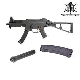 【スーパーセール期間中 ポイント5倍】VFC Umarex UMP9 GBB [Wマガジン+サイレンサー]日本特別仕様 DX版 ガスブローバック BK サバイバルゲーム 銃 ミリタリー ライフル 銃 サブマシンガン