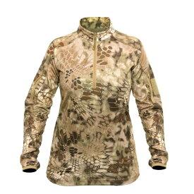【クーポン対象】Kryptek クリプテック オリジナル正規品 レディース VALHALLA 2 シャツ 18WVALLSZH5 ハイランダー Highhlander Lサイズ サバイバルゲーム 服装 サバゲー アウトドア 服装 シャツ
