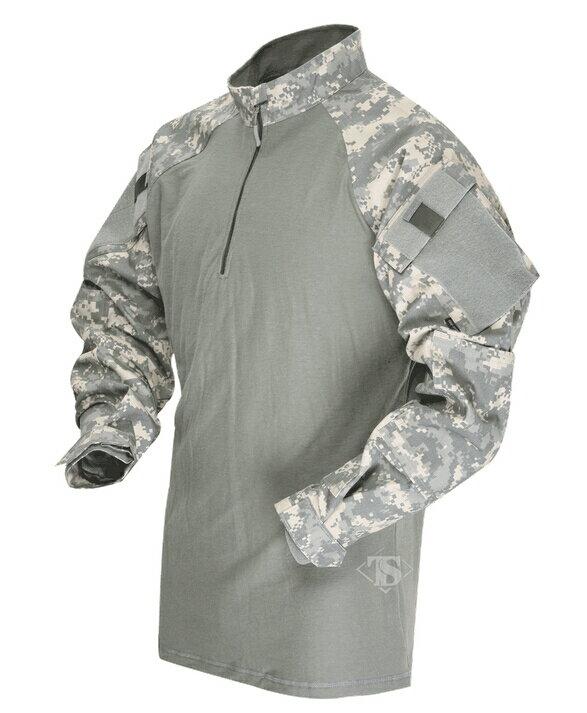 TRU-SPEC TRU 1/4 ZIP COMBAT シャツ ACU SR 2542003