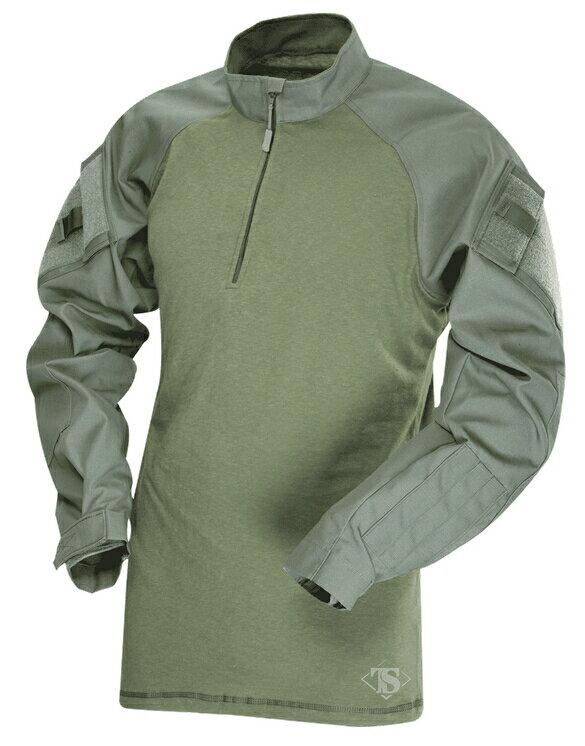 TRU-SPEC TRU 1/4 ZIP COMBAT シャツ OD XLR 2565006