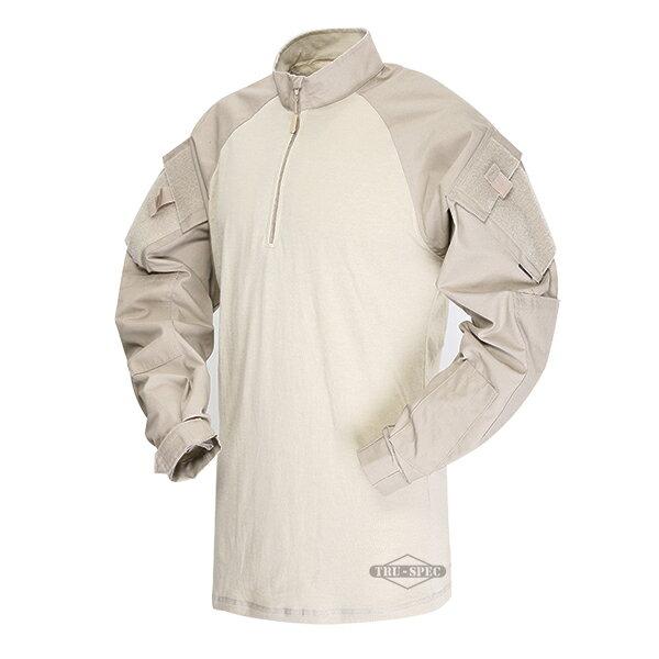 TRU-SPEC TRU 1/4 ZIP COMBAT シャツ KH XLR 2564006