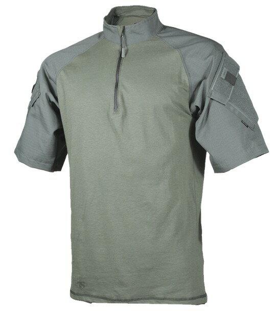 TRU-SPEC TRU 1/4 ZIP 半袖 COMBAT シャツ OD MR 2509004