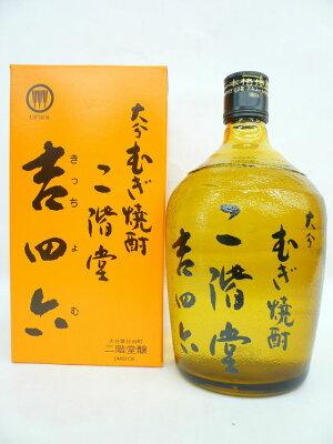 【送料無料】大分麦焼酎吉四六(きっちょむ)瓶入720ml1ケース(10本)