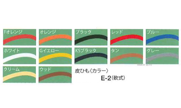 久保田スラッガー 皮ひも(軟式) E-2 ★nyot 野球用品 スワロースポーツ