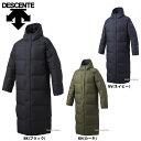 デサント スーパーロング ダウンコート 長袖 DMMMJC44 お年玉や、冬のボーナスのお買...