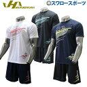 【あす楽対応】 ハタケヤマ hatakeyama 限定 プラシャツ 半袖 ハーフパンツ 上下セット メンズ HF-ZP19 ウェア ウエア…