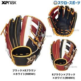 【あす楽対応】 送料無料 ザナックス XANAX 軟式グローブ グラブ ザナパワー 内野手 外野手 兼用 BRG-5819S 軟式用 野球部 野球用品 スワロースポーツ