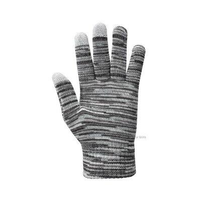 【あす楽対応】ローリングス手袋ニット(のびのび)防寒用スマホ対応EAC8F12両手用冬防寒防寒手袋野球部秋物冬物秋冬野球用品スワロースポーツ