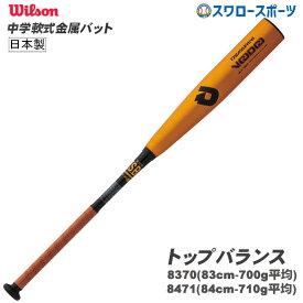 【あす楽対応】 ウィルソン 軟式 バット 中学 ディマリニ ヴードゥ 金属 コンポジット WTDXJRRVP M号対応 軟式用 金属バット 野球部 軟式野球 メンズ 野球用品 スワロースポーツ