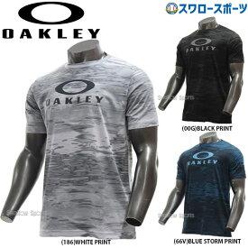 【あす楽対応】 オークリー OAKLEY ウェア ウエア Tシャツ ENHANCE QD SS TEE GRAPHIC 10.0 FOA400810 春夏 野球用品 スワロースポーツ