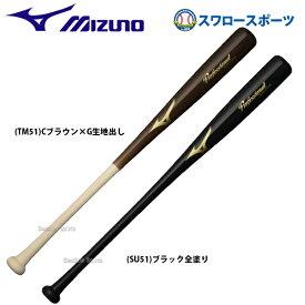 【4/10は最大8%オフクーポン配付】 ミズノ MIZUNO 軟式 バット 木製 Professional Selection 1CJWR117 軟式用 軟式木製バット 新商品 野球用品 スワロースポーツ