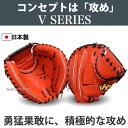 【あす楽対応】 ハタケヤマ 硬式キャッチャーミット V-M01WR ★HSA グローブ 硬式 キャッチャーミット 野球用品 スワロースポーツ