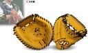 【あす楽対応】 ハタケヤマ 硬式キャッチャーミット(捕手用) イエロー K-M1YB グローブ 硬式 キャッチャーミット 野球用品 スワロースポーツ ■TRZ