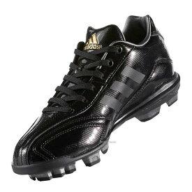 【縫いP加工不可】 adidas アディダス アディピュア T3 K ポイント スタッド スパイク 少年用 AQ8361 スパイク 野球 ポイントスパイク 紐 靴 シューズ 野球部 人工芝 少年野球 野球用品 スワロースポーツ