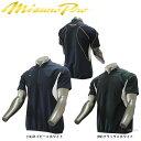 ミズノ ミズノプロ トレーニングジャケット ハーフZIP 半袖 12JE7J11 Mizuno 野球用品 スワロースポーツ