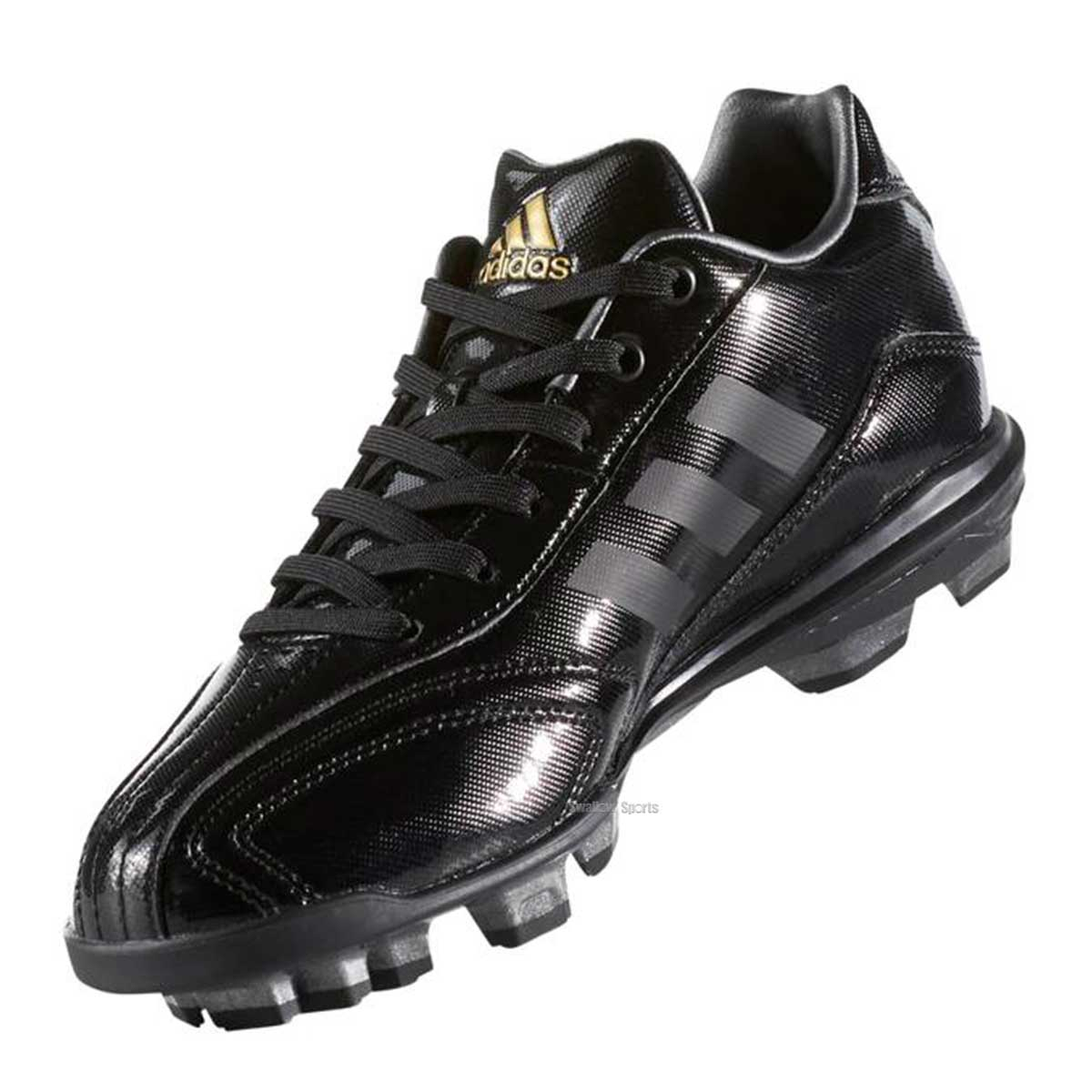 adidas アディダス アディピュア T3 K ポイント シューズ 少年用 AQ8361 靴 シューズ 野球部 野球用品 スワロースポーツ