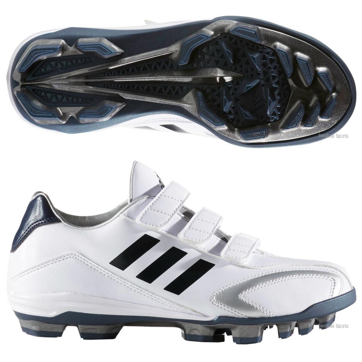 【あす楽対応】 adidas アディダス アディピュア T3 KV ポイント シューズ 少年用 AQ8366 GUB59 靴 野球部 野球用品 スワロースポーツ