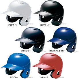 【4/1は全品ポイント2倍!!】 ミズノ ソフトボール用 ヘルメット 両耳付 打者用 1DJHS101 備品 野球部 部活 野球用品 スワロースポーツ