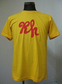 RUSH HOUR RECORDS(ラッシュアワーレコーズ) RH TEEシャツ-YELLOW
