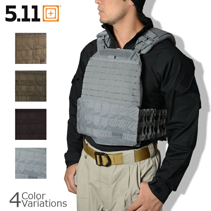 5.11 TACTICAL (ファイブイレブン) TacTec Plate Carrier タックテック プレートキャリア 【正規取扱】56100