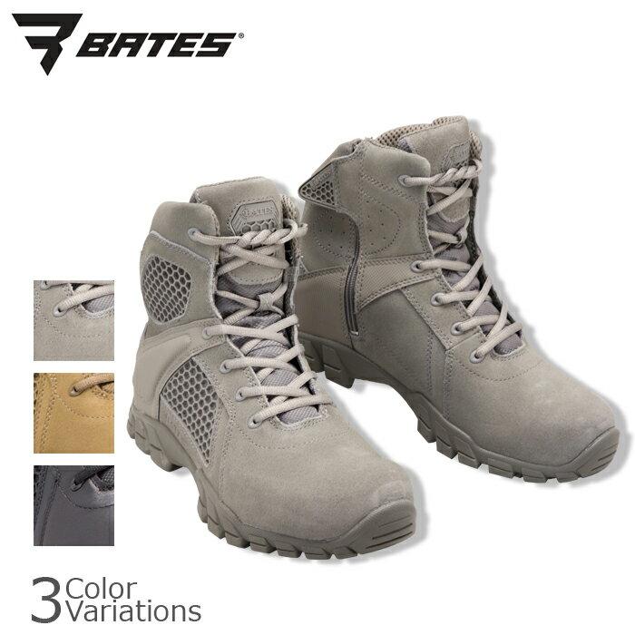BATES(ベイツ) STRIKER TACTICAL BOOTS STRIKE-6 SIDE ZIP ストライカー シックス タクティカル ブーツ サイドジップ 【中田商店】BA-7006,BA-201