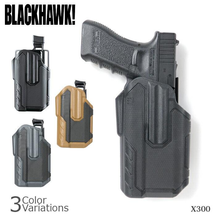 BLACK HAWK!(ブラックホーク) Omnivore MultiFit Holster SUREFIRE X300 マルチフィットホルスター シュアファイア対応 419001BB