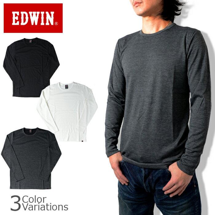EDWIN(エドウィン) BODY FIRE クルーネック 長袖Tシャツ 57295
