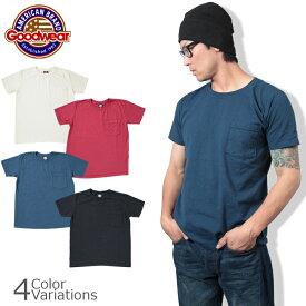 GOODWEAR(グッドウェア) クルーネック ポケット Tシャツ スリムフィット CREW NECK POCKET T SHIRT Slim FitGDW-202