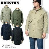 HOUSTON(ヒューストン)N-1LONG/N-1ロングデッキジャケットコート50209