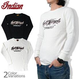 indian インディアンモーターサイクル サーマル ロングスリーブTシャツ IM66446