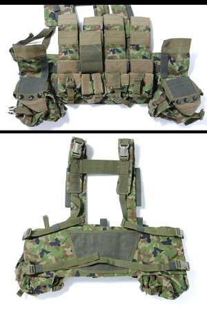 J-TECH(ジェイテック)特価アウトレットチェストリグTYPE1CSモデル陸上自衛隊迷彩