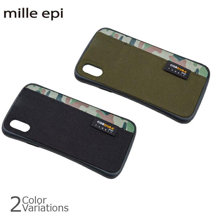 mille epi(ミレピィ) IphoneX対応 対衝撃プロテクションケース スマフォ CD-00005