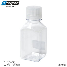NALGENE(ナルゲン) 細口角透明 ボトル 250ml